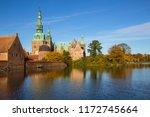 beuatiful view of fredensborg... | Shutterstock . vector #1172745664