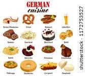 a vector illustration of german ...   Shutterstock .eps vector #1172753527