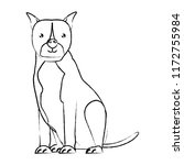 cute dogs design   Shutterstock .eps vector #1172755984