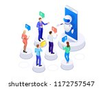 isometric artificial... | Shutterstock .eps vector #1172757547