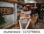 shot of an affectionate young... | Shutterstock . vector #1172758831