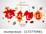 abstract  illustration autumn... | Shutterstock . vector #1172770981