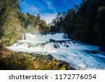 view to la leona waterfall at... | Shutterstock . vector #1172776054