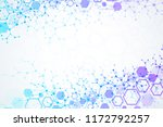 abstract medical background.... | Shutterstock . vector #1172792257