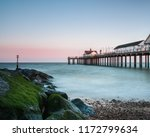 long exposure of southwold pier