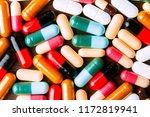 drug prescription for treatment ...   Shutterstock . vector #1172819941