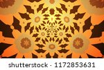 background with a colorful ... | Shutterstock . vector #1172853631