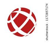 abstract globe stripes sphere ...   Shutterstock .eps vector #1172857174