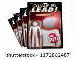 qualified lead new customer... | Shutterstock . vector #1172862487