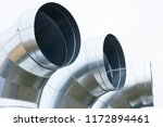 air ducts pipe for line system... | Shutterstock . vector #1172894461