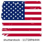 us grunge flag background... | Shutterstock .eps vector #1172896444