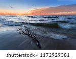 colorful and beautiful sunset... | Shutterstock . vector #1172929381