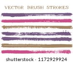 colorful ink brush strokes...