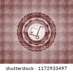cargo icon inside red badge...   Shutterstock .eps vector #1172933497