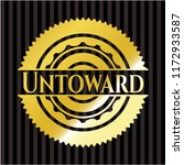 untoward shiny emblem | Shutterstock .eps vector #1172933587