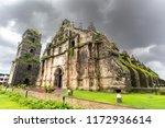 unesco world heritage site san... | Shutterstock . vector #1172936614