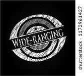 wide ranging written on a... | Shutterstock .eps vector #1172961427