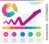 infographic steps concept   Shutterstock .eps vector #1172968051