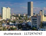 panoramic afternoon view of the ... | Shutterstock . vector #1172974747