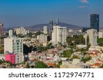 panoramic afternoon view of the ...   Shutterstock . vector #1172974771