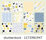 collections of design elements. ... | Shutterstock .eps vector #1172981947