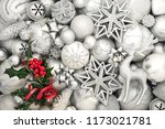 christmas abstract background... | Shutterstock . vector #1173021781