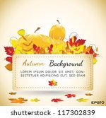 Natural Autumn Background...