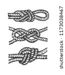 marine nautical knot engraving... | Shutterstock .eps vector #1173038467