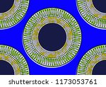 textile fashion african print... | Shutterstock .eps vector #1173053761