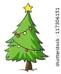 Illustration Of A Christmas...