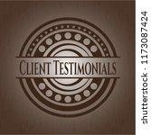 client testimonials retro style ... | Shutterstock .eps vector #1173087424