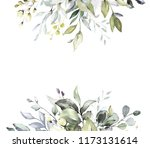 botanical design. herbal... | Shutterstock . vector #1173131614