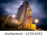 pipeline bridge | Shutterstock . vector #117314191
