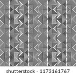 seamless pattern with striped... | Shutterstock .eps vector #1173161767