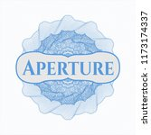 light blue passport rossete... | Shutterstock .eps vector #1173174337