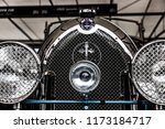 badge grille and radiator cap... | Shutterstock . vector #1173184717