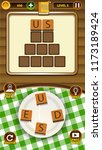 word puzzle game assets for...