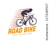 vector bicycle labels  badges... | Shutterstock .eps vector #1173189517