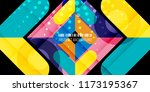 abstract colorful background... | Shutterstock .eps vector #1173195367