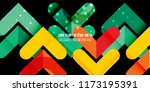 abstract colorful background... | Shutterstock .eps vector #1173195391
