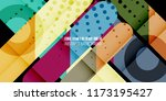 abstract colorful background... | Shutterstock .eps vector #1173195427