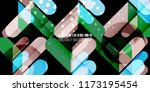 abstract colorful background... | Shutterstock .eps vector #1173195454