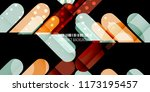 abstract colorful background... | Shutterstock .eps vector #1173195457