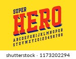 comics style font design ... | Shutterstock .eps vector #1173202294