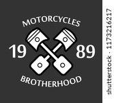 design t shirt for motorcycle... | Shutterstock .eps vector #1173216217