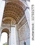 arch the triumph  paris  france.   Shutterstock . vector #117321775