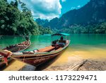 rajjaprabha dam  surat thani ... | Shutterstock . vector #1173229471