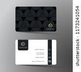 modern business card template... | Shutterstock .eps vector #1173241054