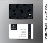 modern business card template... | Shutterstock .eps vector #1173241057