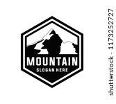mountain logo template | Shutterstock .eps vector #1173252727